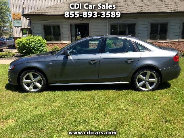 2012 Audi A4 2.0T Premium Plus quattro Sedan