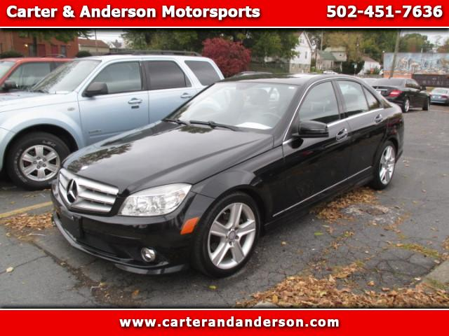 2010 Mercedes-Benz C-Class C300 4MATIC Sport Sedan