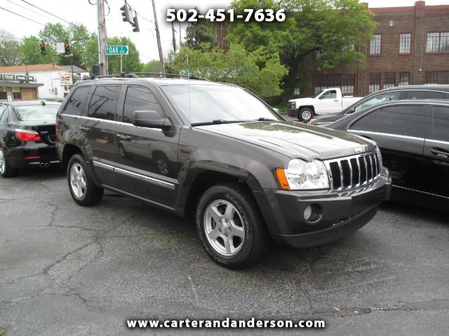 used 2005 jeep grand cherokee limited 4wd for sale in louisville ky 40204 carter anderson. Black Bedroom Furniture Sets. Home Design Ideas