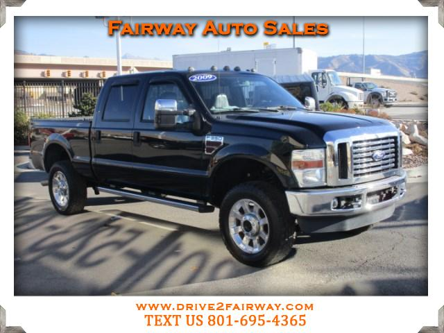 2009 Ford F-350 SD Lariat Crew Cab Short Bed 4WD