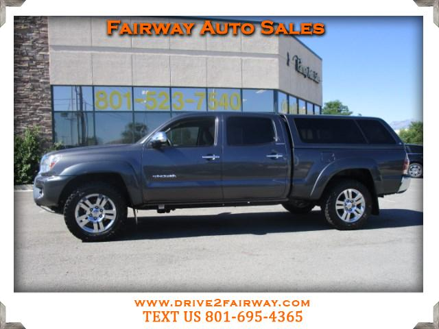 2015 Toyota Tacoma Limited Double Cab Long Bed V6 5AT 4WD