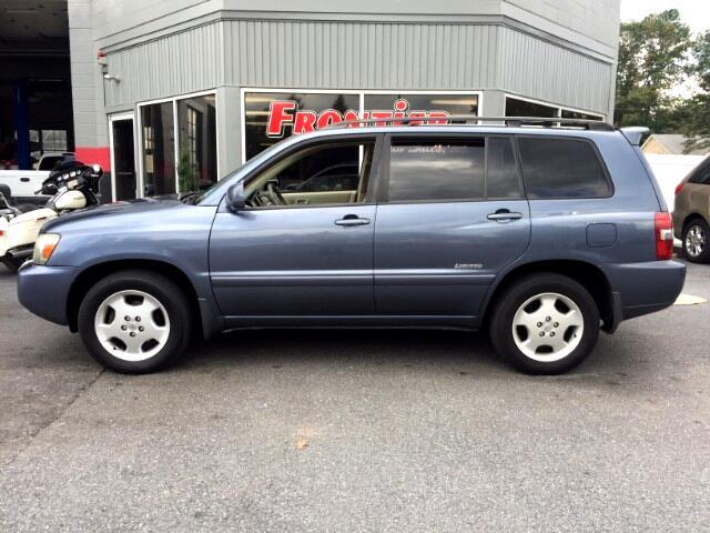 2006 Toyota Highlander Limited AWD V6