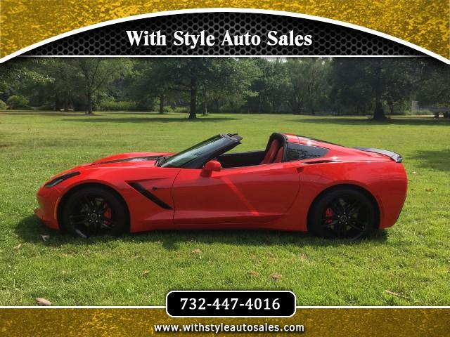 2015 Chevrolet Corvette 1LT Coupe Manual