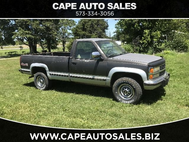 1993 Chevrolet C/K 2500 Reg. Cab 8-ft. Bed 4WD