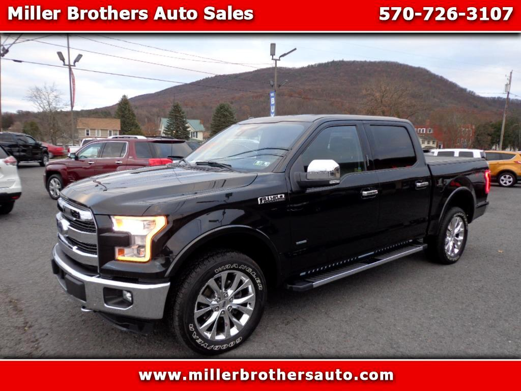 2015 Ford F-150 Lariat SuperCrew 5.5-ft. Bed 4WD