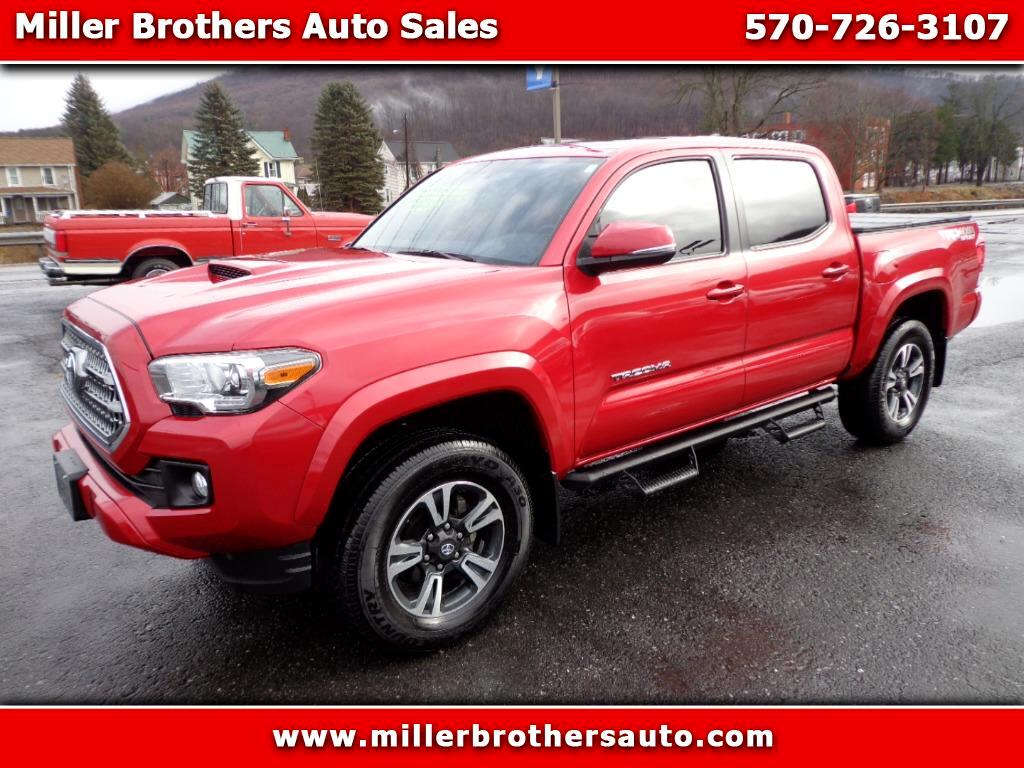 2016 Toyota Tacoma TRD Sport Double Cab 5' Bed V6 4x4 AT (Natl)