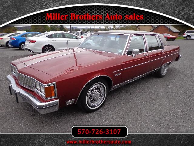 used 1984 oldsmobile ninety eight for sale in mill hall pa 17751 miller brothers auto sales. Black Bedroom Furniture Sets. Home Design Ideas