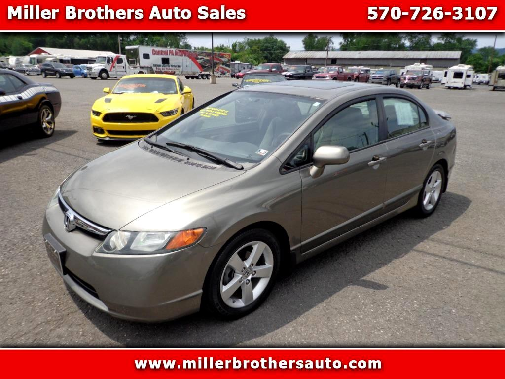 2008 Honda Civic EX Sedan 4-spd AT
