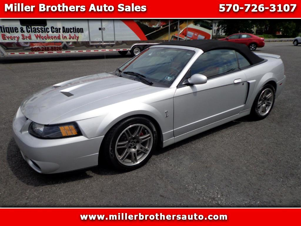 2003 Ford Mustang SVT Cobra Convertible - 10th Anniv.