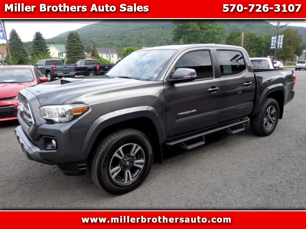 2017 Toyota Tacoma TRD SPORT DOUBLE CAB SHORT BED