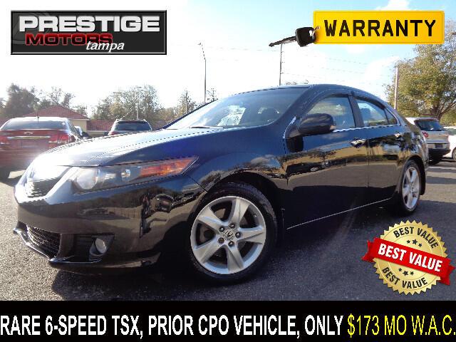 2009 Acura TSX 6-SPEED MT