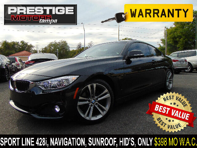 2014 BMW 4-Series 428i Sport Line Coupe