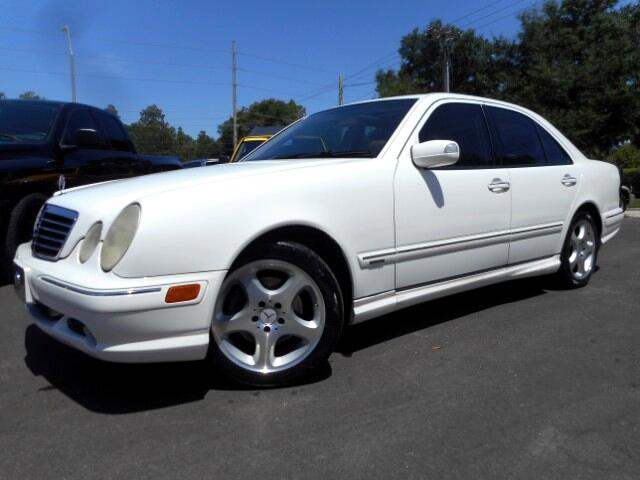 Used 2002 Mercedes Benz E Class For Sale In Tampa Fl 33549
