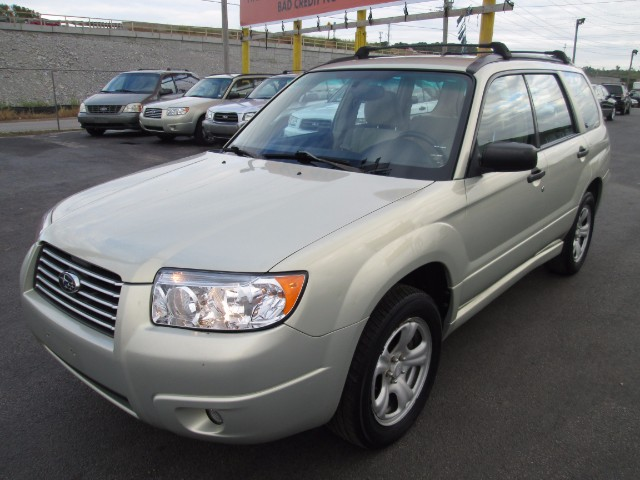 2006 Subaru Forester 2.5 X 3 MONTH OR 3000 MILEAGE WARRANTY COMES WITH