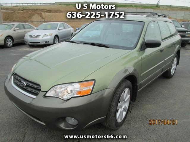 2006 Subaru Outback Wagon w/All-weather Package