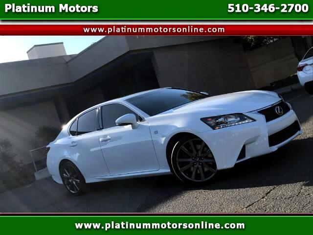 2015 Lexus GS 350 Crafted Line 1 CA Owner Like New We Finance Call O
