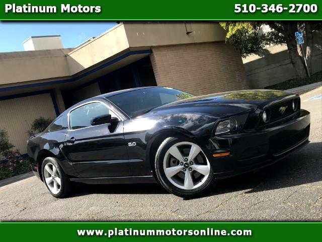2014 Ford Mustang GT Premium 1 Owner Like New BLK/BLK We Finance Cal