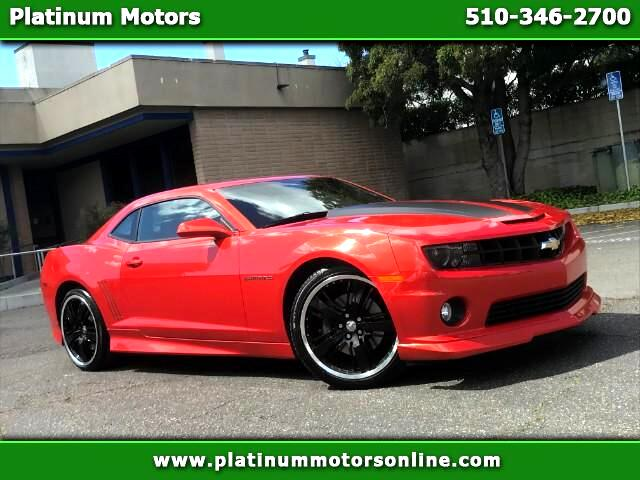 2011 Chevrolet Camaro 2SS ~ Must SEE ~ Only 49K Miles ~ Orange On Black