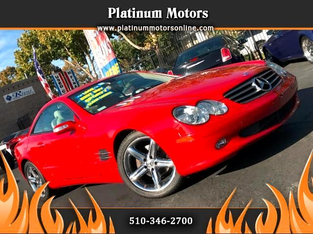 2006 Mercedes-Benz SL-Class SL500 Drive In Style Red On Tan Hot Call Or Text N
