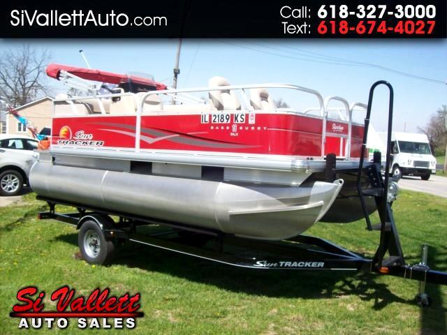 2014 Bass Tracker Pontoon Boat