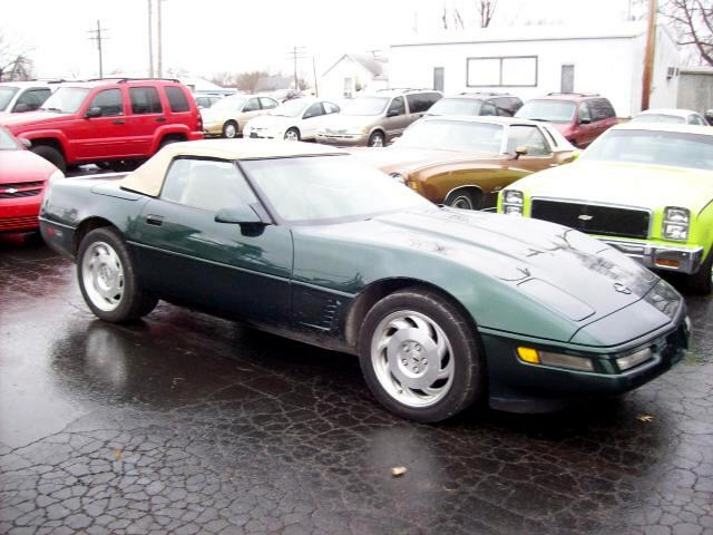 1996 Chevrolet Corvette Convertible