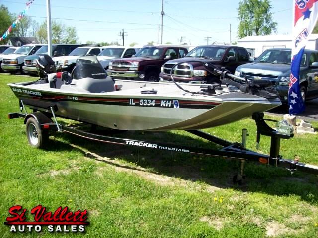 2010 Bass Tracker Bass Boat