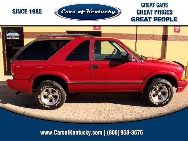 2002 Chevrolet Blazer 2-Door 2WD LS