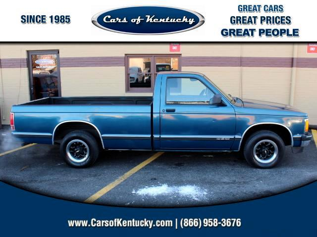 1991 Chevrolet S10 Pickup Reg. Cab Long Bed 2WD