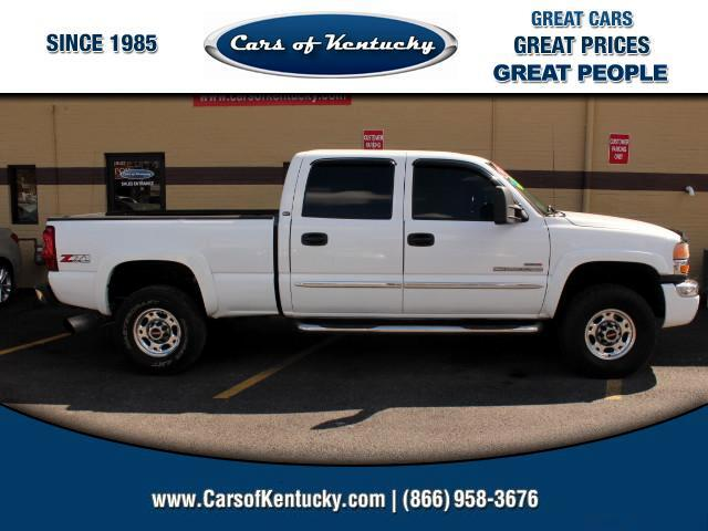 2005 GMC Sierra 2500HD Crew Cab Short Bed 4WD