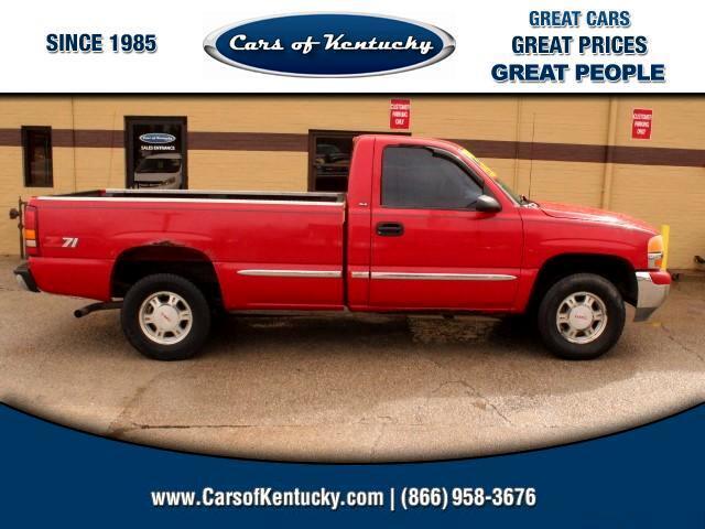 1999 GMC Sierra 1500 Reg. Cab 8-ft. Bed 4WD