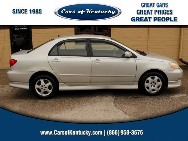 2004 Toyota Corolla S 4-Speed AT