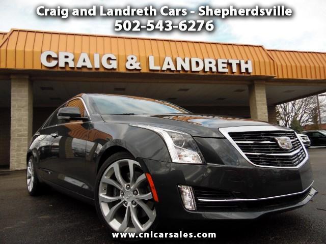 2015 Cadillac ATS 2.0L Premium RWD w/Driver Assist Pkg.