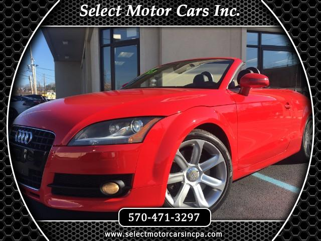 2009 Audi TT 3.2 Roadster quattro with S tronic