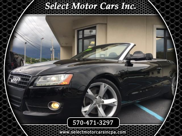 2011 Audi A5 2.0T Premium Plus FrontTrak Multitronic