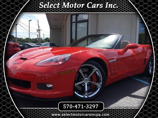 2012 Chevrolet Corvette Grand Sport 3LT Convertible