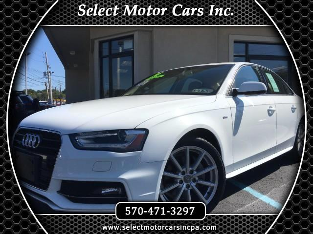 2014 Audi A4 2.0T Quattro Premium Plus Tiptronic Sedan