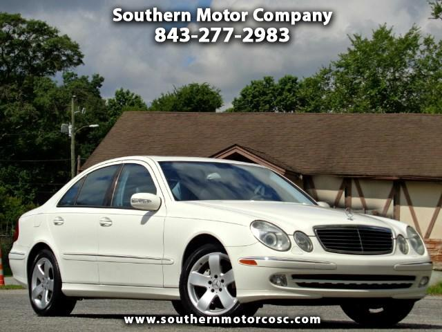 used 2005 mercedes benz e class for sale in north charleston sc 29405 southern motor company. Black Bedroom Furniture Sets. Home Design Ideas