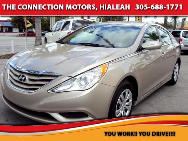 2012 Hyundai Sonata The Hyundai Sonata is a four-door five-passenger sedan that has an established r