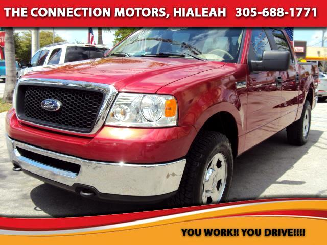 2007 Ford F-150 One owner truck Best price for miles 4x4 Power seats Power windows Automatic ABS Bra