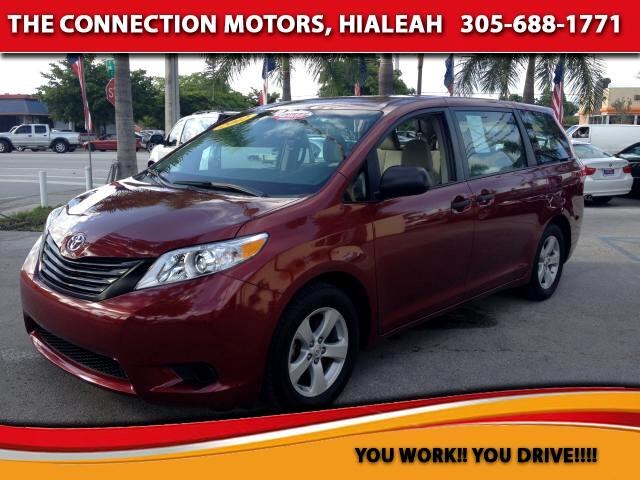 2012 Toyota Sienna VIN 5TDZK3DC6CS177239 33k miles Options Air Conditioning Alloy Wheels AMF