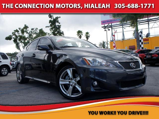 2011 Lexus IS 250 VIN JTHBF5C26B5141810 35k miles Options Air Conditioning Bucket Seats Cruis