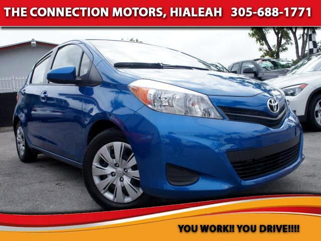 2013 Toyota Yaris VIN JTDKTUD39DD542613 23k miles Options Air Conditioning Vanity Mirrors Sid