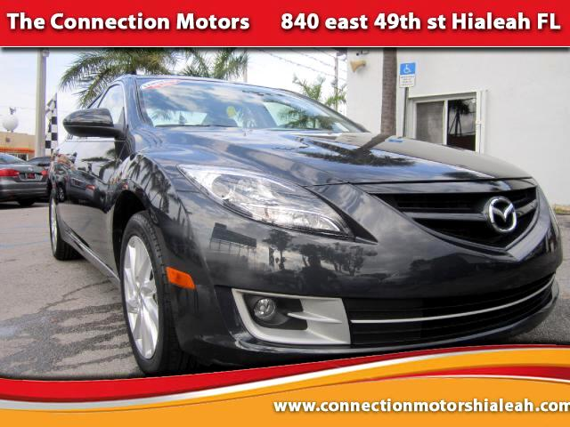2012 Mazda MAZDA6 VIN 1YVHZ8DH7C5M11338 55k miles Options Air Conditioning Alarm System Alloy