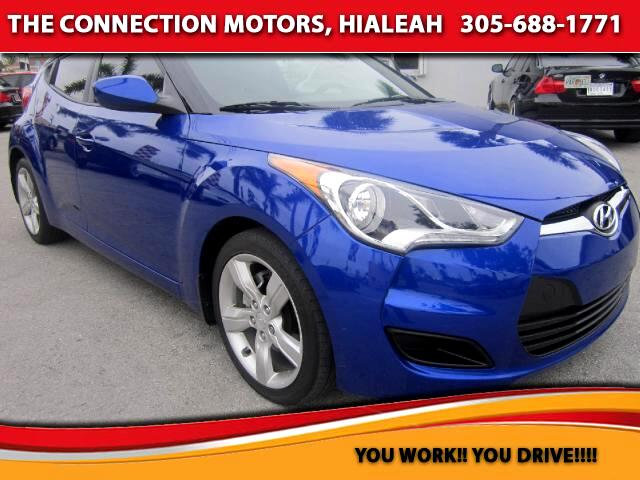 2012 Hyundai Veloster VIN KMHTC6AD2CU070424 22k miles Options Adjustable Pedals Air Conditioni