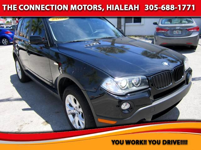 2009 BMW X3 VIN WBXPC93459WJ28692 77k miles Options 4x4 Air Conditioning Alarm System Alloy