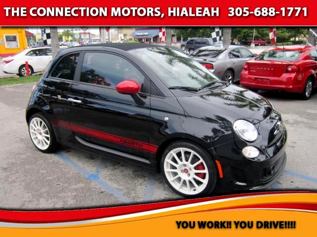 2013 Fiat 500 VIN 3C3CFFJH0DT635977 1k miles Options Air Conditioning Alarm System Alloy Whee