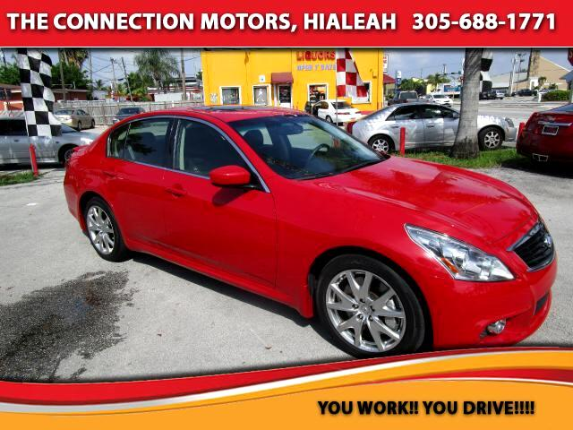2012 Infiniti G Sedan VIN JN1CV6AP3CM629801 23k miles Options Air Conditioned Seats Air Condit