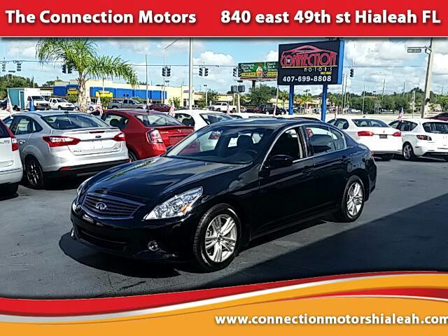 2011 Infiniti G Sedan GREAT SELECTION OF HIGH QUALITY VEHICLES AT THE LOWEST PRICE WE FINANCE EVERY