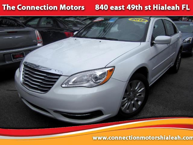 2012 Chrysler 200 GREAT SELECTION OF HIGH QUALITY VEHICLES AT THE LOWEST PRICE WE FINANCE EVERYBODY