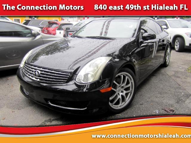 2006 Infiniti G35 GREAT SELECTION OF HIGH QUALITY VEHICLES AT THE LOWEST PRICE WE FINANCE EVERYBODY
